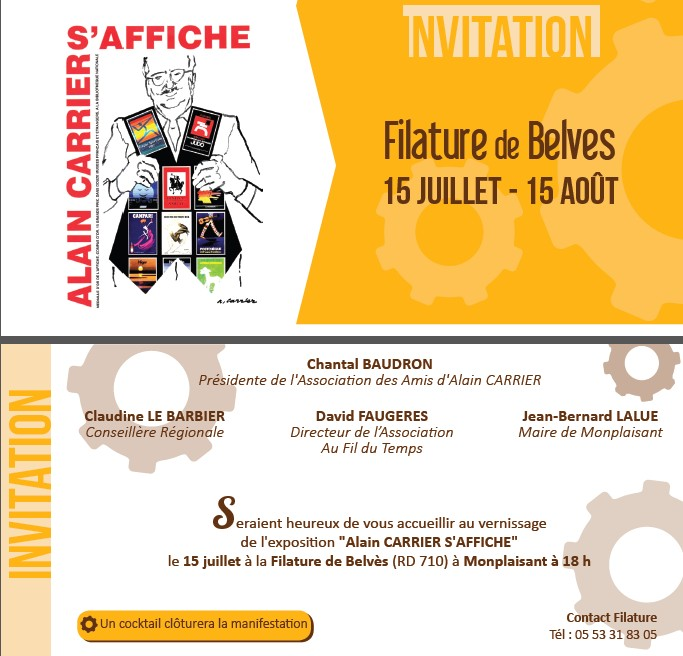 expo belves invitation